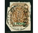 SG3. 1900 2d Brown and green. Superb fine used...