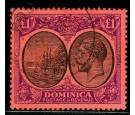SG91. 1923 £1 Black and purple/red. Superb fine used...