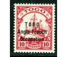 SG H31. 1915 10pf Carmine. Brilliant fresh mint...