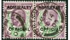 SG O103. 1903 1 1/2d Dull purple and green. Choice superb fine u