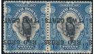 SG224a. 1918 12c+2c 'Surcharge Inverted' Pair...