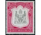 SG50. 1897 4/- Black and carmine. Choice superb fresh mint...