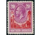 SG17. 1925 £1 Carmine-red and rose-purple. Very fine mint...