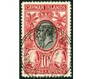 SG107. 1935 10/- Black and scarlet. Brilliant fine well centred