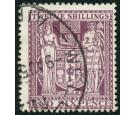 SG F156. 1935 12/6 Deep plum. Very fine used...
