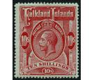 SG68. 1914 10/- Red/green. Very fine fresh mint...