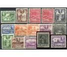 SG288-300. 1934 Set of 13. Superb used...
