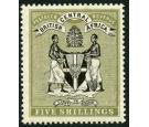 SG39. 1896 5/- Black and olive. Superb fresh mint...