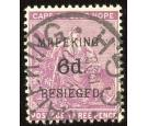 SG4. 1900 6d on 3d magenta. Choice superb fine used...