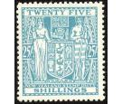 SG F204. 1946 25/- Greenish blue. Brilliant fresh U/M mint...