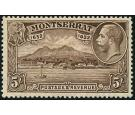 SG93. 1832. 5/- Chocolate. Superb fresh U/M well centred...