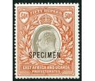 SG16s. 1903 50r Grey and red-brown. 'SPECIMEN'. Superb fresh min