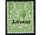 SG S1. 1916 1/2d Green. Superb fresh mint...