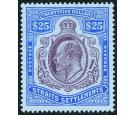 SG168. 1911 $25 Purple and blue/blue. Brilliant fresh well centr