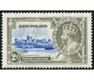 SG12g. 1935 2d Ultramarine and grey. 'Dot by chapel'. Superb fre