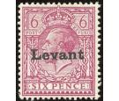 SG S6. 1916 6d Reddish purple. Superb well centred mint...