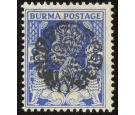 SG J19a. 1942 6p Bright blue. Brilliant fresh U/M mint...