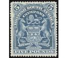 SG92. 1901 £5 Deep blue. Choice superb fresh mint...