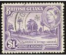 SG317a. 1951 $1 Bright violet. Perf.14x13. Choice superb fine us