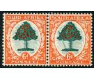 SG61a. 1937 6d Green and vermilion. 'Falling Ladder'. U/M mint..