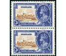 SG23a. 1935 3d Brown and deep blue. 'Extra Flagstaff'. Very fine