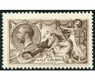 SG400. 1913 2/6 Sepia-brown. Superb fresh mint...