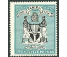 SG31. 1895 £25 Black and blue-green. Brilliant fresh mint...