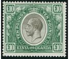 SG100. 1922 £10 Black and green. Brilliant fresh mint...
