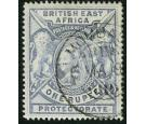 SG92a. 1901 1r Dull blue. Superb fine used...