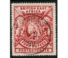 SG95. 1897 4r Carmine. Choice superb fresh well centred mint...