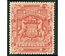 SG74. 1897 £2 Rosy red. Choice superb fresh mint...